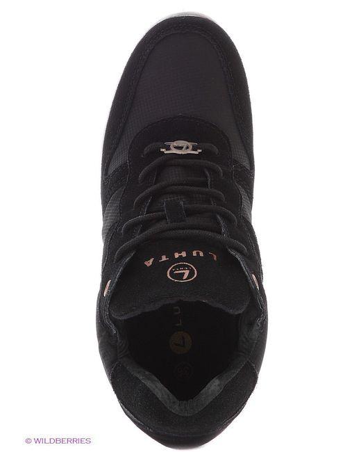 Кроссовки Luhta                                                                                                              чёрный цвет