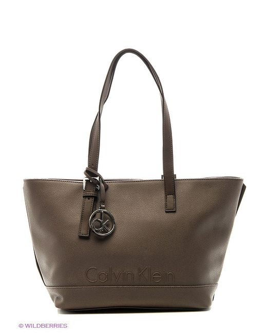 Сумки Calvin Klein                                                                                                              коричневый цвет