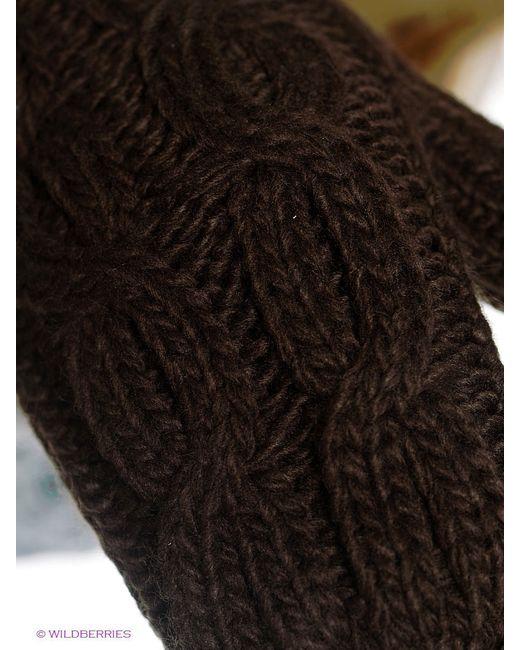 Варежки Luhta                                                                                                              коричневый цвет