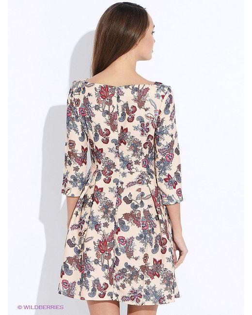 Платья Befree                                                                                                              бежевый цвет