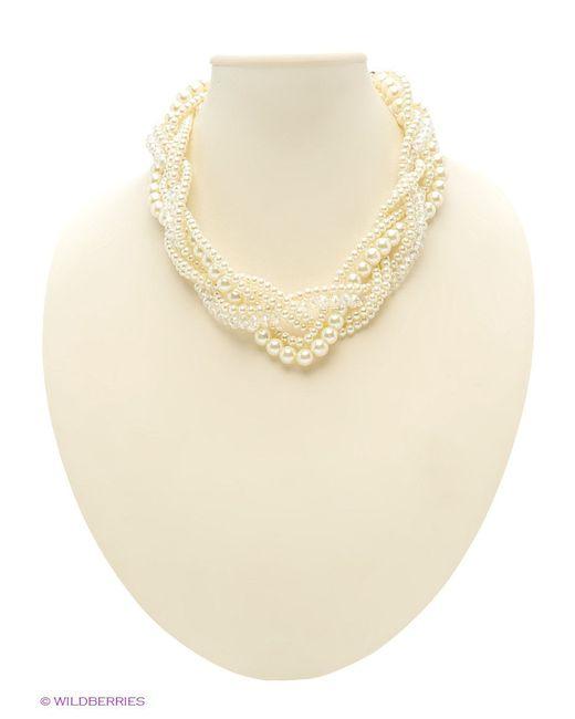 Колье Lovely Jewelry                                                                                                              Молочный цвет