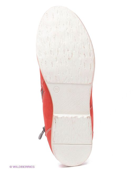 Ботинки Marko                                                                                                              красный цвет