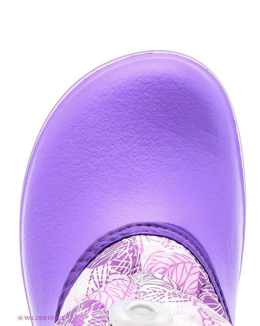 Резиновые Сапоги Дюна                                                                                                              фиолетовый цвет