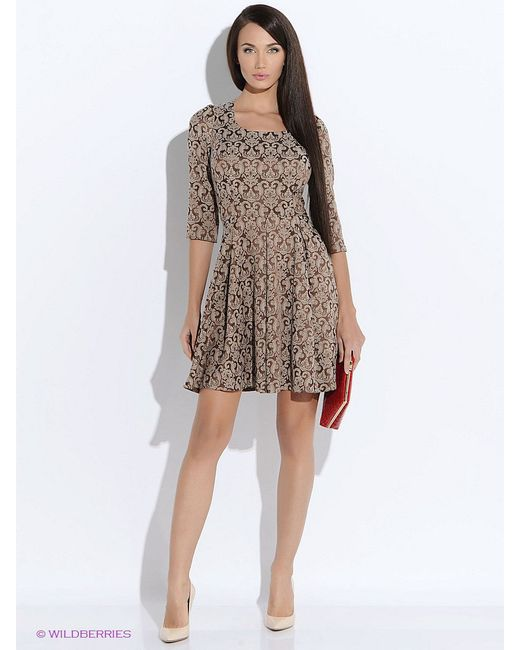 Платья Colambetta                                                                                                              бежевый цвет