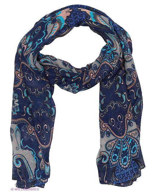 Палантины Модные истории                                                                                                              синий цвет