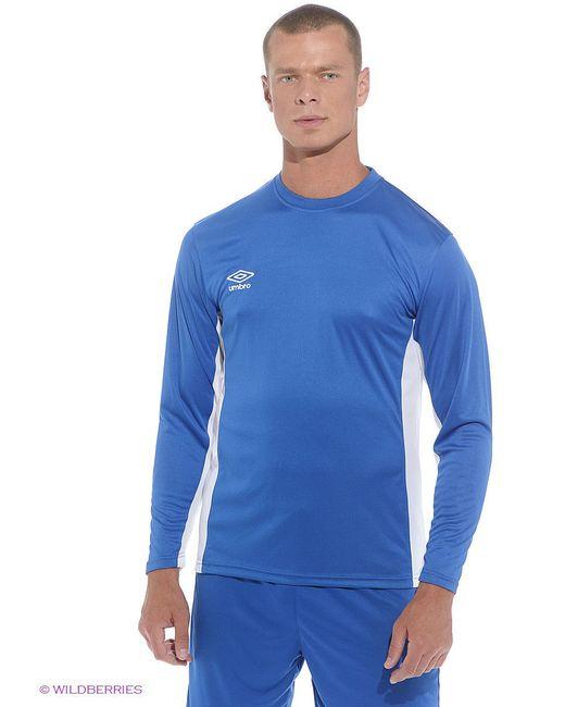 Футболка Umbro                                                                                                              синий цвет
