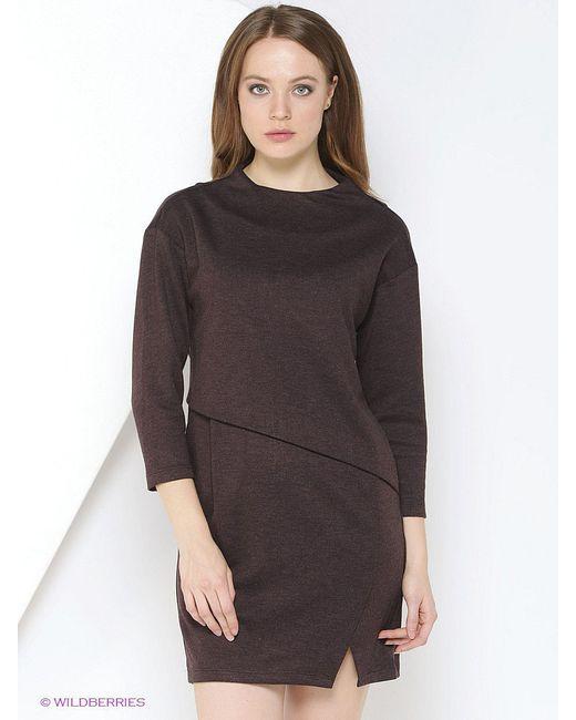 Платья TOPSANDTOPS                                                                                                              коричневый цвет