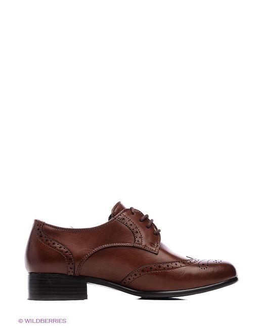 Ботинки Inario                                                                                                              коричневый цвет