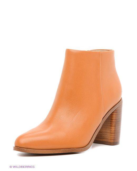 Ботинки Mango                                                                                                              коричневый цвет