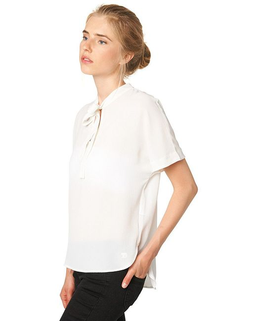 Рубашки TOM TAILOR                                                                                                              бежевый цвет