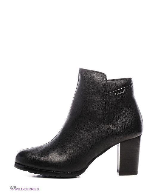 Ботинки Inario                                                                                                              чёрный цвет