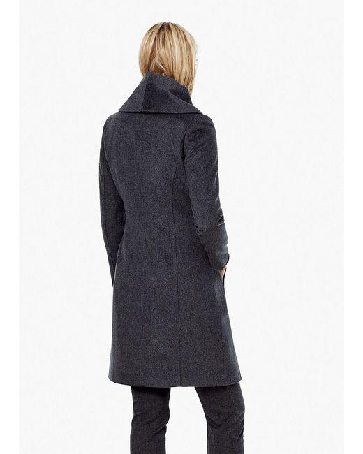 Пальто Mango                                                                                                              серый цвет