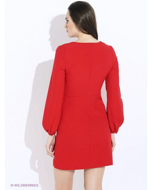 Платья Befree                                                                                                              красный цвет