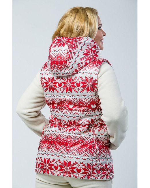 Куртки А Б Коллекция                                                                                                              красный цвет