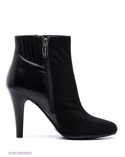 Ботильоны Moda Donna                                                                                                              чёрный цвет