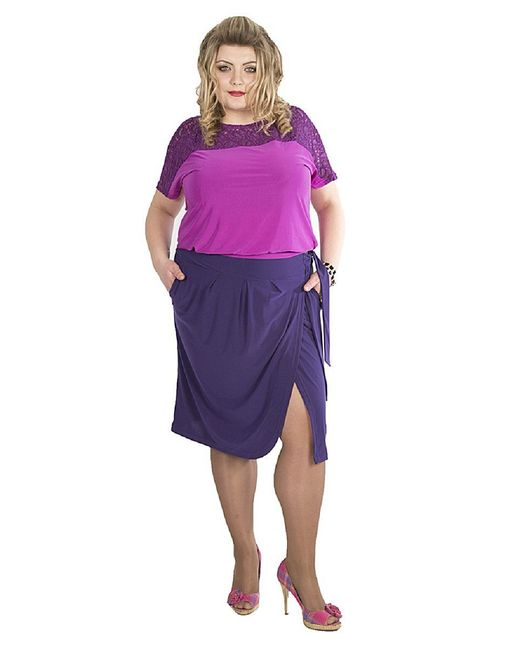 Юбки SPARADA                                                                                                              фиолетовый цвет