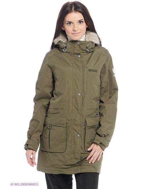 Куртки REGATTA                                                                                                              зелёный цвет