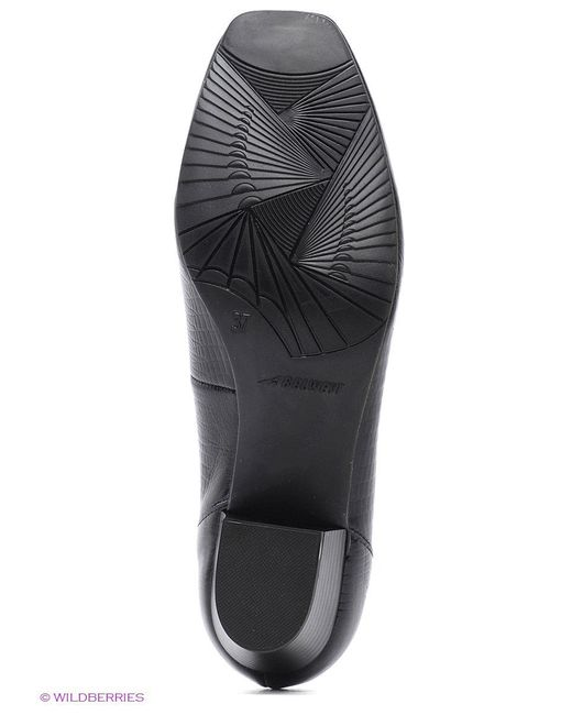 Туфли BELWEST                                                                                                              чёрный цвет