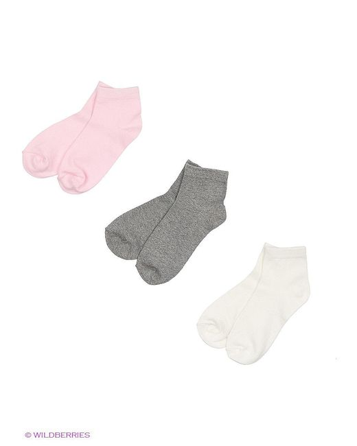 Носки Oodji                                                                                                              розовый цвет
