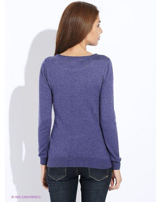Джемперы Sela                                                                                                              фиолетовый цвет