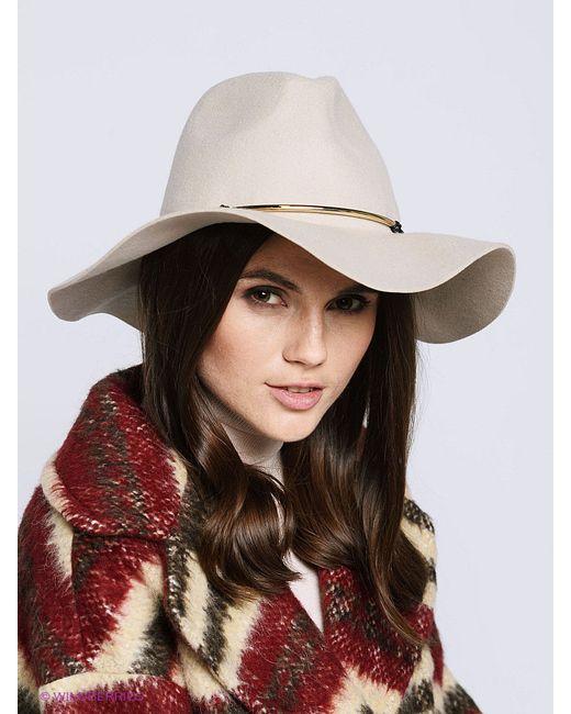 Шляпы Mango                                                                                                              бежевый цвет