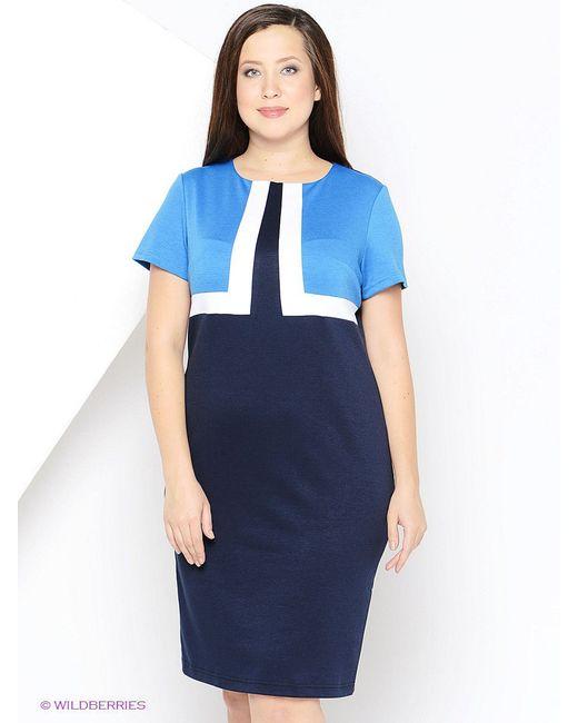 Платья Regina Style                                                                                                              голубой цвет