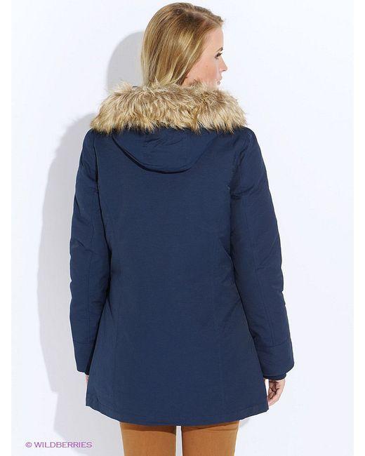 Куртки Befree                                                                                                              синий цвет