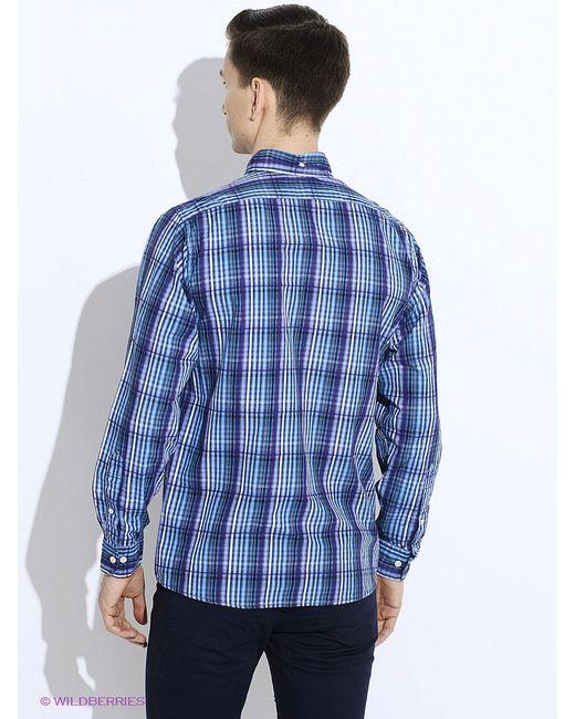 Рубашки Westrenger                                                                                                              синий цвет