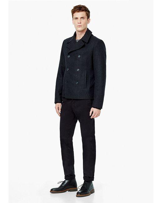 Пальто Mango Man                                                                                                              серый цвет
