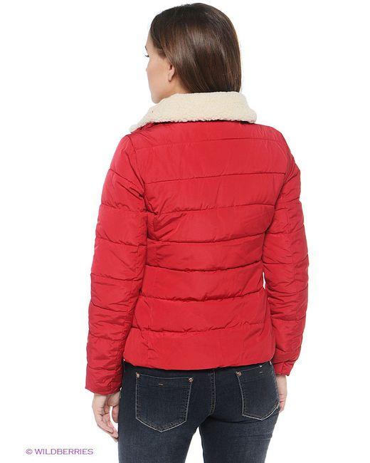 Куртки ТВОЕ                                                                                                              Малиновый цвет