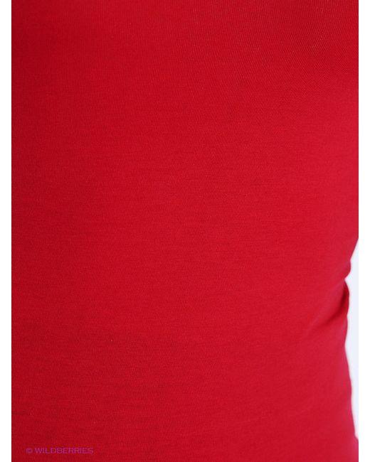 Лонгслив BuyMe                                                                                                              красный цвет
