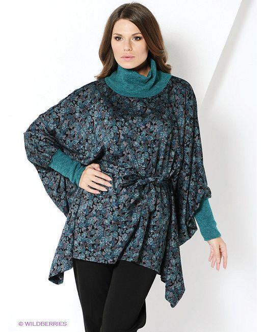 Блузки Magnolica                                                                                                              Бирюзовый цвет