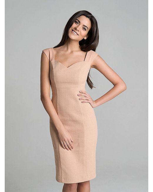 Платья RAMIRES                                                                                                              Персиковый цвет