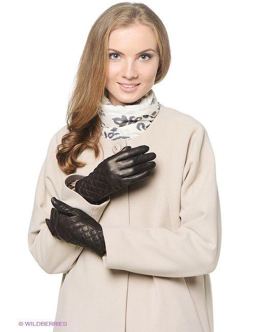 Перчатки Piero                                                                                                              коричневый цвет