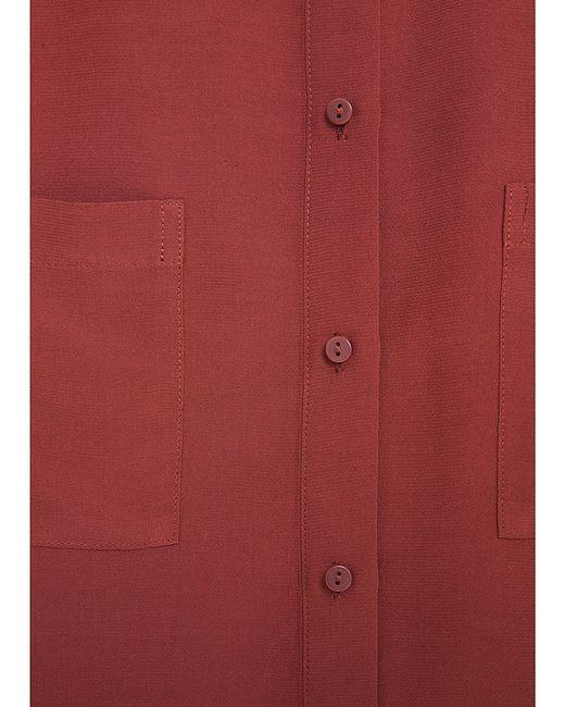 Блузки Mango                                                                                                              коричневый цвет