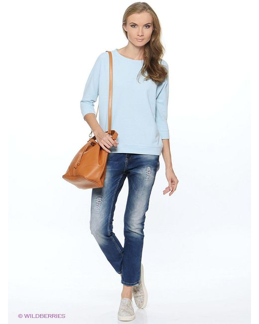Блузки Top Secret                                                                                                              голубой цвет