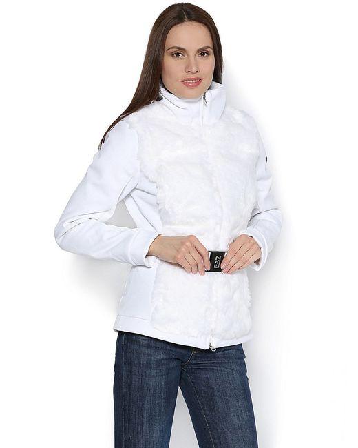 Куртки EA7                                                                                                              белый цвет
