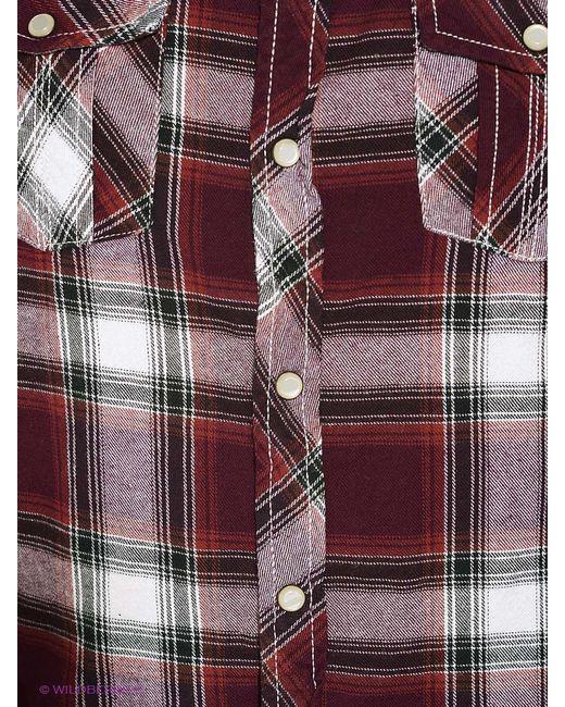 Рубашки MeZaGuz                                                                                                              красный цвет
