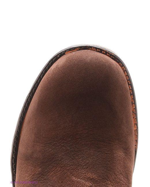 Полусапожки Ridlstep                                                                                                              коричневый цвет