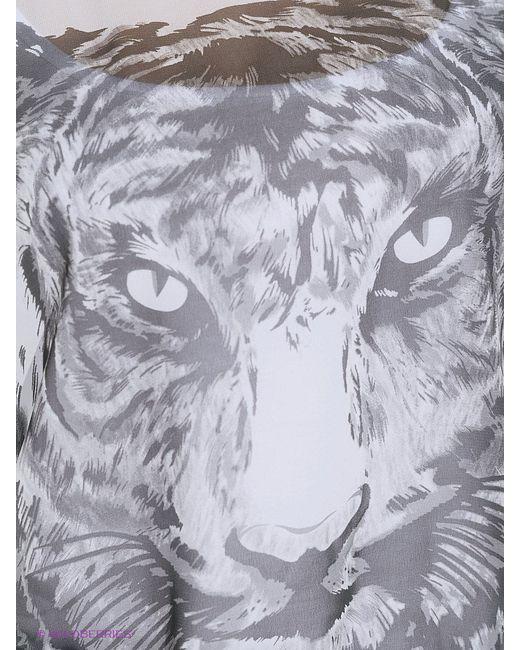 Блузки Oodji                                                                                                              серый цвет