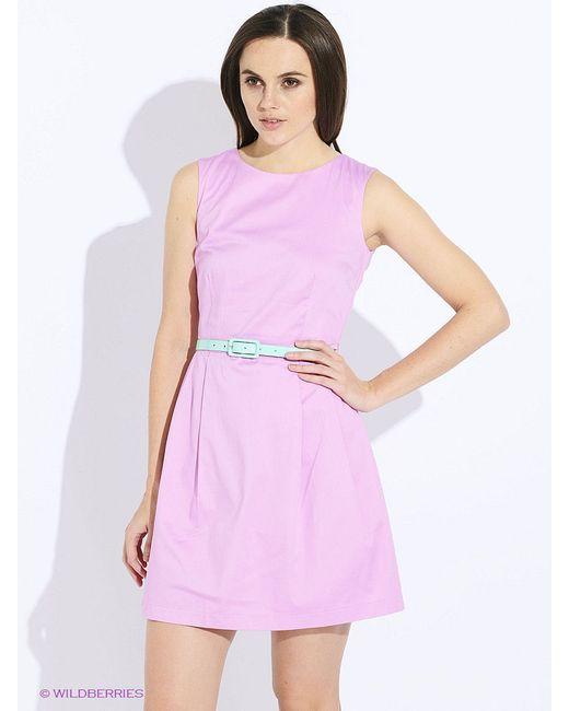 Платья Oodji                                                                                                              розовый цвет