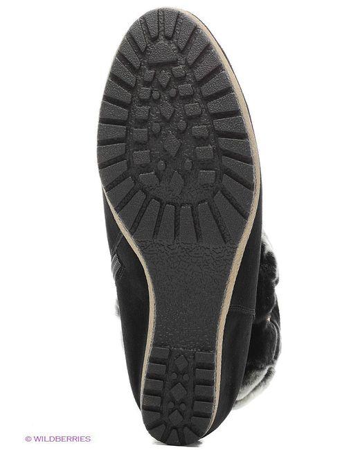 Полусапожки Covani                                                                                                              чёрный цвет