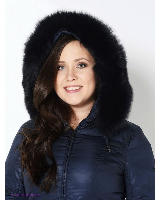 Пальто Finn Flare                                                                                                              синий цвет