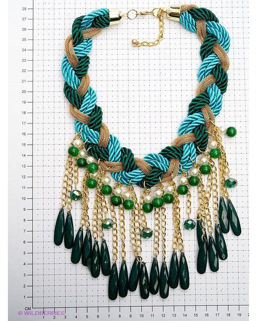 Колье Bijoux Land                                                                                                              зелёный цвет
