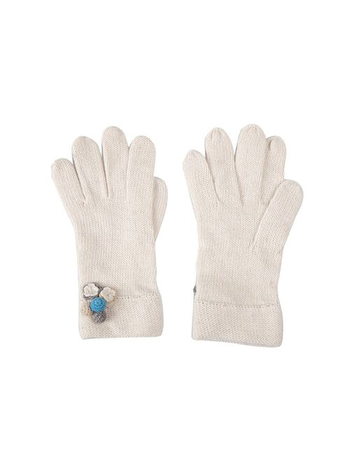 Перчатки Модные истории                                                                                                              белый цвет