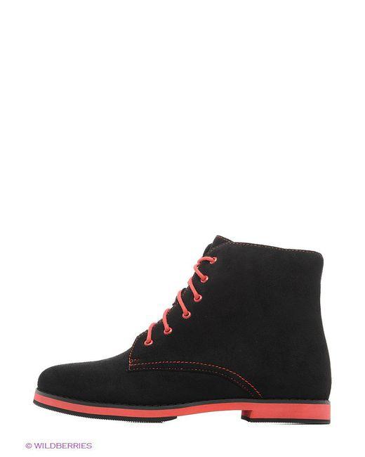 Ботинки Calipso                                                                                                              чёрный цвет
