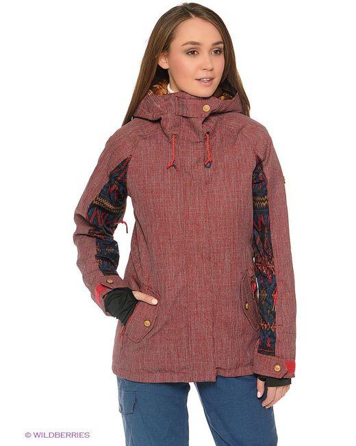 Куртки Roxy                                                                                                              красный цвет