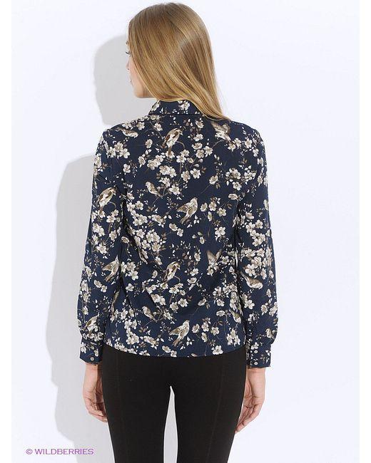 Блузки Tom Farr                                                                                                              синий цвет
