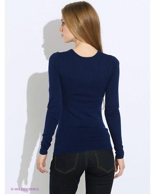 Джемперы Oodji                                                                                                              синий цвет