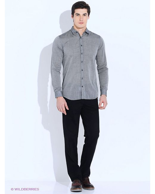 Рубашки Angelo Bonetti                                                                                                              серый цвет